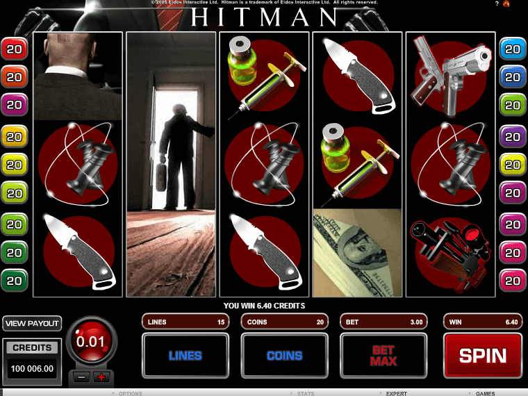 The Hitman Slot Game Is Free Here Without Downloading